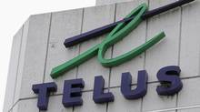 The Telus Corp. building in Vancouver. (Chuck Stoody/CP)