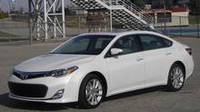 2013 Toyota Avalon (Ted Laturnus for The Globe and Mail)