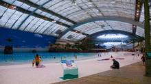 What sun-starved Canadian wouldn't want to spend their tourism dollars in an indoor tropical facility, such as the Ocean Dome, a former indoor water park in Japan? (Seagaia Resort)