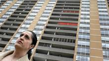 Roza Zarik owns two units in 40 Panorama Ct. (Peter Power/The Globe and Mail/Peter Power/The Globe and Mail)