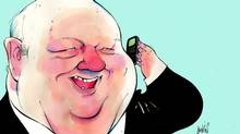 Senator Mike Duffy (Anthony Jenkins/The Globe and Mail)