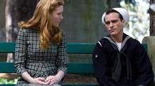 Among TIFF's auteur films is Paul Thomas Anderson's The Master, starring Amy Adams and Joaquin Phoenix.