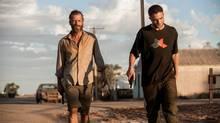 A Still of Guy Pearce and Robert Pattinson in The Rover (Matt Nettheim)
