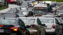 The Federation of Canadian Municipalities has called for measures to combat gridlock. (DARRYL DYCK/THE CANADIAN PRESS)