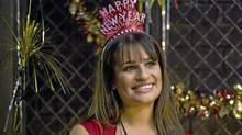 "Lea Michele in a scene from ""New Year's Eve"" (Warner Bros.)"