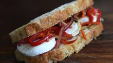 The Eat-Your-Veggies Sandwich (Deborah Baic/The Globe and Mail)