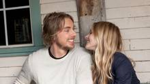 "Dax Shepard and Kristen Bell in a scene from ""Hit & Run"" (Jeffrey Reed)"
