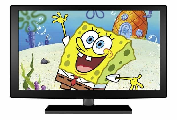 YTV's cartoon SpongeBob Squarepants