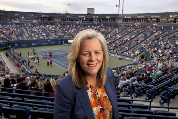 Former Women's Tennis Association (WTA) chairman and CEO Stacey Allaster