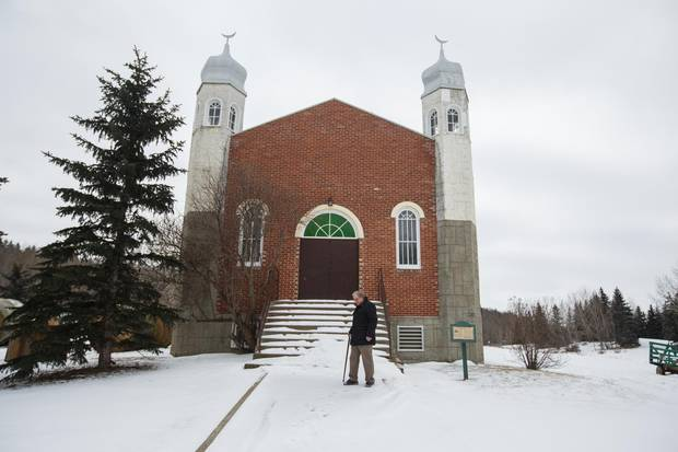Richard Awid at the Al Rashid Mosque, where he used to volunteer as a historical interpreter, in Edmonton, Alberta on Wednesday, February 1, 2016. Mr. Awid's father, Ahmed Ali Awid, helped to build the Mosque in1938, making it the oldest in Canada.