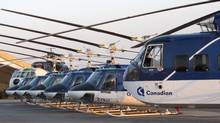 Canadian Helicopters' fleet in Afghanistan includes 7 Bell 212s and 4 Sikorsky 61s. (CANADIAN HELICOPTERS)