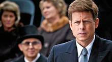 Greg Kinnear portrays John F. Kennedy in a scene from the eight-part movie, The Kennedys, premiering Sunday, April 3, 2011 on the ReelzChannel network. (AP)