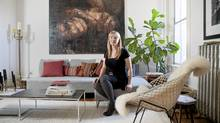 Interior designer and blogger Emma Reddington in her Roncesvalles Village home (Matthew Sherwood for The Globe and Mail/Matthew Sherwood for The Globe and Mail)