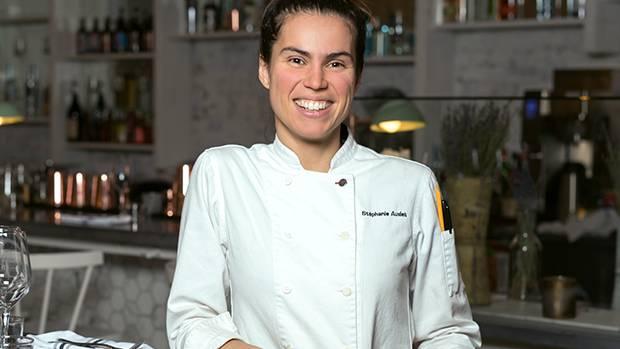 Chef Stéphanie Audet.