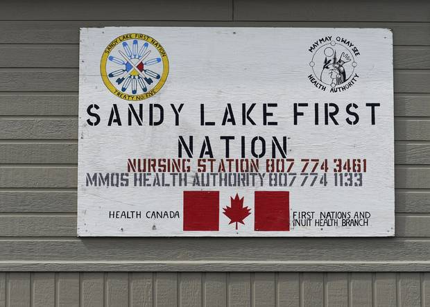 Brody Meekis was taken to the Sandy Lake nursing station twice, but his strep throat infection was not diagnosed.