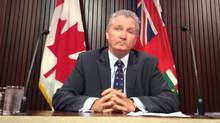 Ontario Auditor-General Jim McCarter, shown last March, is set to issue a 24-page report on the costs of the province's cancellation of a Mississauga gas plant shortly before the 2011 election. (MOE DOIRON/THE GLOBE AND MAIL)