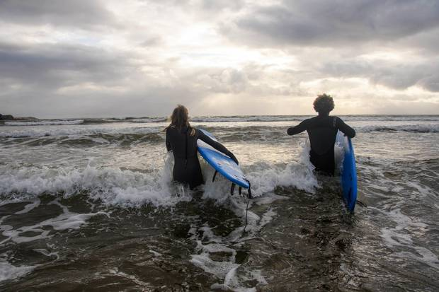 Surfing at Rossnowlagh Beach has grown in popularity in recent years.