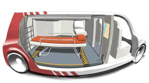 "Canadian designer create ""SurvivER"" a new kind of ambulance for 2030"