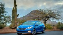 Kia has re-engineered the 2014 Forte to be the most luxurious compact car in Canada, say company officials. (Kia)