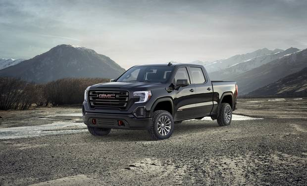 The 2019 GMC Sierra AT4 is an off-road pickup for the Jet ...