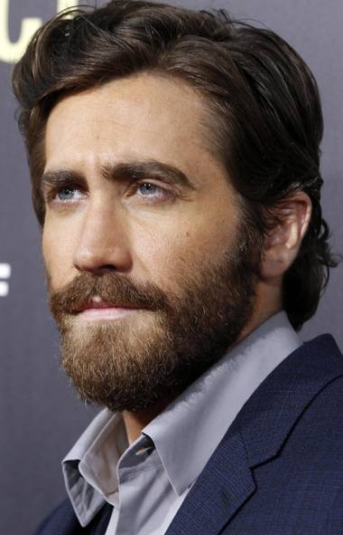 "Jake Gyllenhaal's steely-eyed gaze and impeccable grooming welcome you to our Fall Fashion Issue and remind you why you probably won't be seeing your face in this gallery at the premiere of the film ""End of Watch"" in Los Angeles on Monday. (Reuters)"