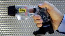 A Taser X26. There are currently more than 9,000 stun guns in use in Canada. (KHAMPHA BOUAPHANH/ASSOCIATED PRESS)