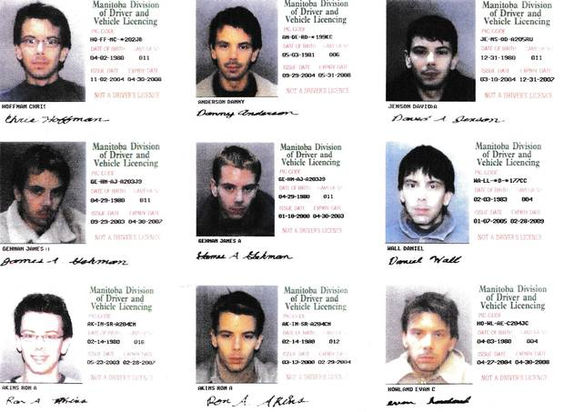 Police found forged IDs with made-up birth dates and names in Gerald Blanchard's Vancouver apartment.