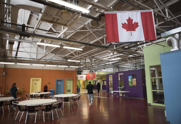 The Learning Enrichment Foundation, located on Industry Street, modified a 73,000-square-foot warehouse to accommodate several not-for-profit organizations.