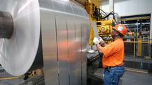 Alcoa Inc. reported quarterly financial results Oct. 8, 2013. (Daniel R. Patmore/AP)