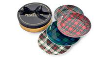 Tartan salad/dessert plates, $52 for a set of four through www.pendleton-usa.com. (Handout)