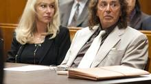 Helen Mirren and Al Pacino in the HBO film Phil Spector. (Phil Caruso/AP)