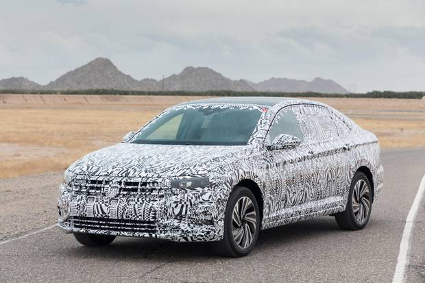Review: 2019 VW Jetta preview promises a stouter, sportier