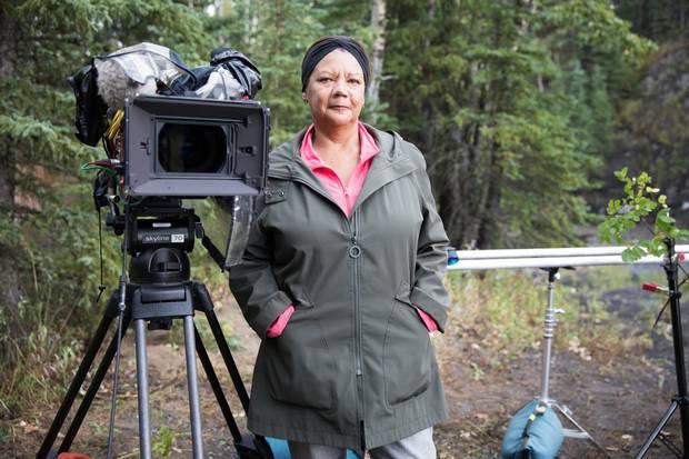 Historian Cheryl Foggo is shown in Millarville, Alta. in August 2017.
