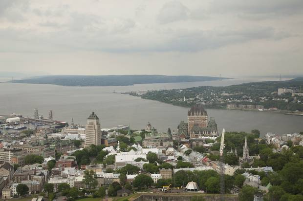 Quebec City: From the Capital Observatory, the city's highest point, visitors get a 360-degree view of the city below.