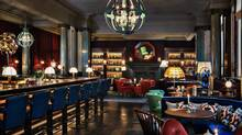 The hotel bar hits all the right notes of comfort, elegance and conviviality.
