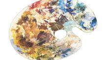 A painter's palette. PhotoDisc. (PhotoDisc)