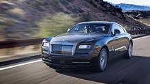 Despite a physically imposing 2,440 kilograms, the Rolls Royce is still capable of hitting 100 km/h in 4.6 seconds. (Rolls-Royce)