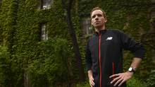 Olympic runner Reid Coolsaet, in Toronto to promote this fall's Scotiabank Toronto Waterfront Marathon, says not a whole lot has changed for marathoners since Jerome Drayton set the Canadian record 38 years ago. (Fred Lum/The Globe and Mail)