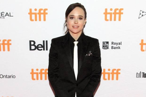 Ellen Page attends