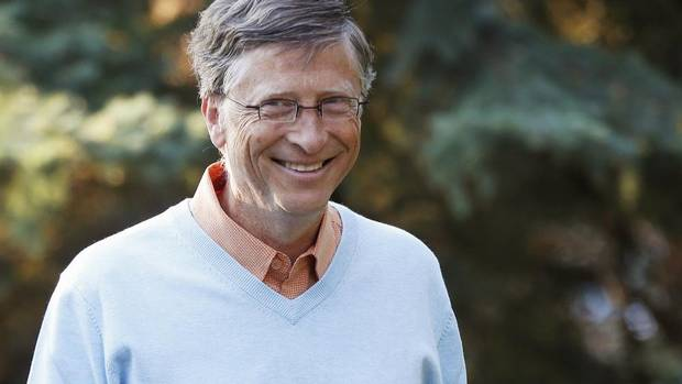 Microsoft co-founder Bill Gates, 56, topped Forbes' annual list of the U.S. uber-elite for the 19th year in a row with $66-billion (U.S.), up $7-billion from a year earlier. (JIM URQUHART/REUTERS)