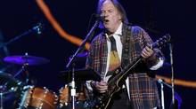 Neil Young's new double-CD Psychedelic Pill starts off with the half--hour long song Driftin' Back. (SHANNON STAPLETON/REUTERS)
