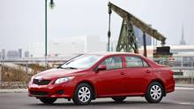 The Honda Civic and Toyota Corolla (2009 model pictured here) are the go-to cars for students. Both are good choices, but we also offer a few alternatives. (Toyota)