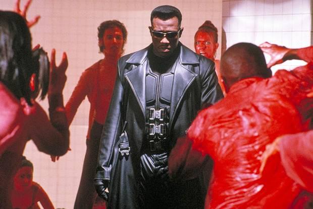 Wesley Snipes in Blade (1998).