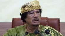 Moammar Gadhafi (MAHMUD TURKIA)