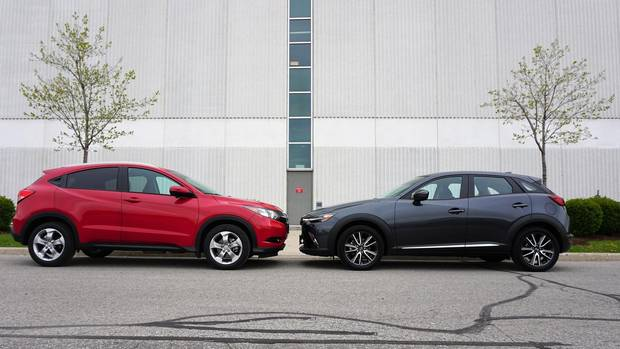 Mazda Cx 3 Vs Honda Hrv >> Faceoff Honda Hr V Ex L Navi Vs Mazda Cx 3 Gt The Globe