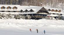 Discover the 65-kilometre cross-country trail network at the Trapp Family Lodge in Vermont.