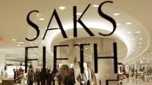 A Saks Fifth Avenue store (CHITOSE SUZUKI)