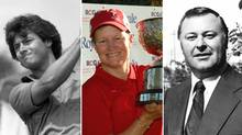 2013 Canadian Golf Hall of Fame honourees Jim Nelford, Alison Murdoch and John McLaughlin (Canadian Golf Hall of Fame)