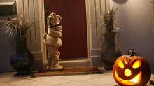 Will trick or treating. Get down to your child's level when photographing them. (David Lucas/The Globe and Mail)