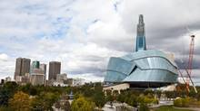 The Canadian Museum of Human Rights will contain 1,640 glazed panels.
